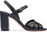 Prada Leather sandals with strap
