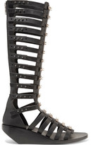 Rick Owens Embellished Leather Sandals