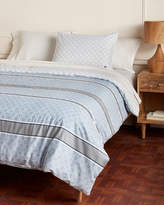 Lacoste Blue Vence Twin/Twin XL Reversible Comforter Set