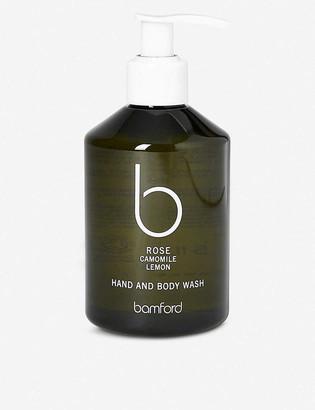 Bamford rose hand and body wash 250ml
