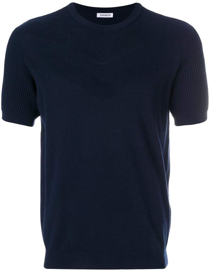 Dirk Bikkembergs short-sleeve fitted top