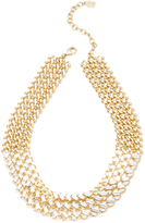 Dannijo Tyler Crystal Collar Necklace