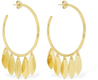 Isabel Marant El Condor Multi Charms Hoop Earrings