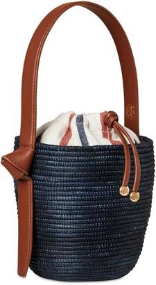 Summer Stripe Lunchpail Canvas Bag