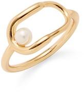 Rebecca Minkoff Metal Interlocking Ring
