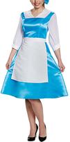 Disguise Disney Princess Belle Blue Dress Costume Set - Adult