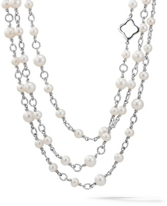 David Yurman Bijoux Chain Necklace with Pearls