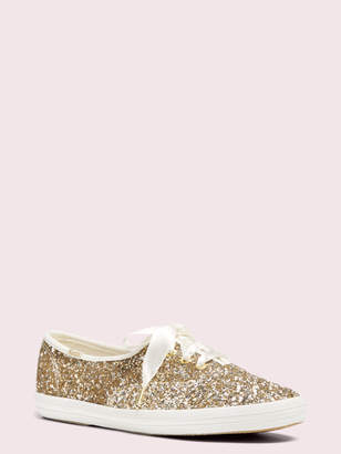 Kate Spade keds x new york glitter sneakers