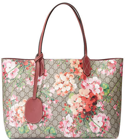 Gucci Reversible GG Blooms medium tote