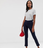 Y.A.S Tall pants with side zip in navy