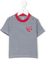 Ralph Lauren anchor crest Breton t-shirt - kids - Cotton - 9 mth