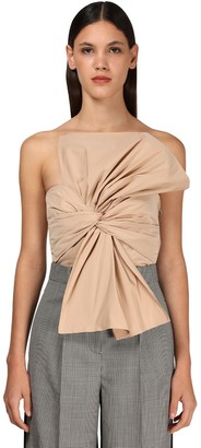 Givenchy Off-The-Shoulder Taffeta Top