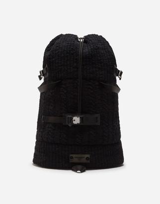 Dolce & Gabbana Knit Backpack