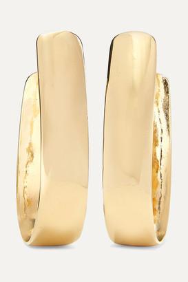 Jennifer Fisher Bolden Gold-plated Hoop Earrings