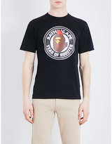 A Bathing Ape Rooster-print Cotton-jersey T-shirt
