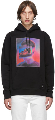 Marcelo Burlon County of Milan Black Bumper Car Hoodie