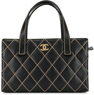 Chanel Pre Owned 2004 Wild Stitch CC tote