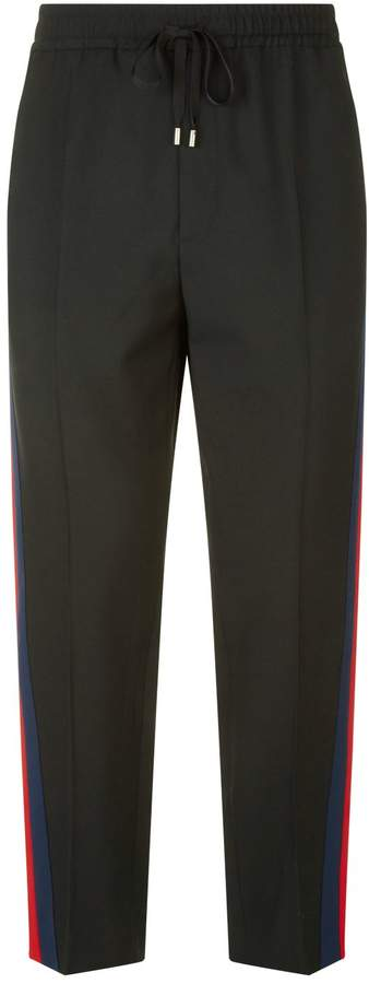 Gucci Webbed Stripe Sweatpants