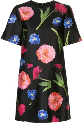 Carolina Herrera floral print T-shirt dress