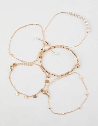 Full Tilt 5 Pack Rhinestone/Coin Bracelets