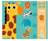 Djeco Toddler Primo Puzzle In The Jungle Set Of Four Puzzles