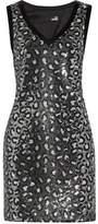 Love Moschino Sequined Satin Dress