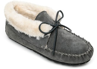 Sperry Gray Leather Sole Women's flats
