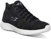Skechers Women's Burst Chukka Flat Knit Running Sneakers from Finish Line