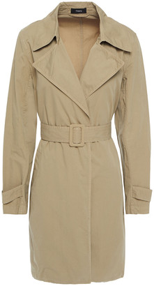 Theory Oaklane Cotton-twill Trench Coat