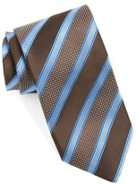 Canali Men's Stripe Silk Tie