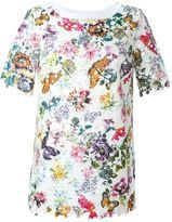 I'M Isola Marras floral print lace T-shirt