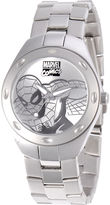 Marvel Fortaleza Spider-Man Mens Silver-Tone Watch