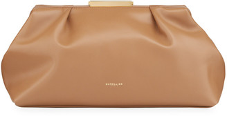 DeMellier Florence Leather Clutch Bag