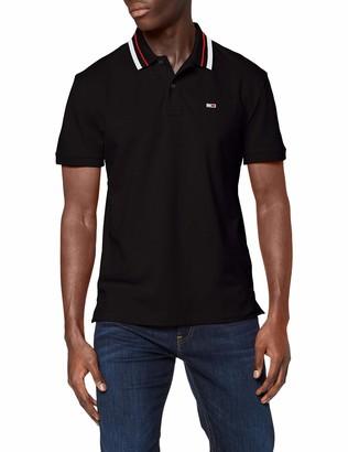 Tommy Hilfiger Jeans Men's Short Sleeve Stretch Polo