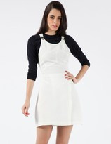 Stolen Girlfriends Club White Corrugated Dress