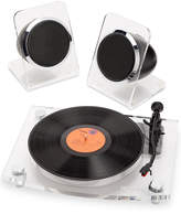 Victrola Acrylic Bluetooth Record Player & Speakers