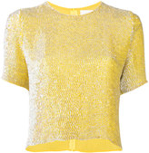 Ashish sequin T-shirt - women - Silk - M