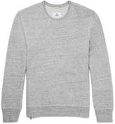 Reigning Champ Mélange Loopback Cotton-Jersey Sweatshirt