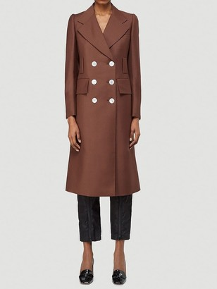 Prada Double Breasted Coat