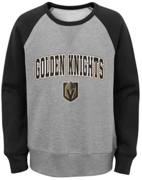 Outerstuff Big Boys Vegas Golden Knights Chief Crewneck Sweatshirt
