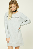Forever 21 FOREVER 21+ Contemporary Sweatshirt Dress