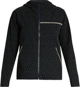 OUTDOOR VOICES X A.P.C Clover-print hooded performance jacket