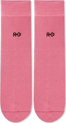 R+CO Pink Socks