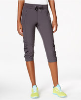Calvin Klein Commuter Active Ruched Capri Pants