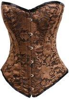 Bslingerie Women Lace Vintage Style Overbust Corset
