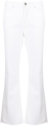 FEDERICA TOSI High Rise Slim-Fit Flared Jeans