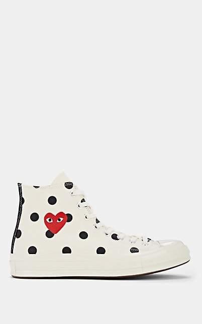 Comme des Garcons Women's Chuck Taylor '70s Canvas Sneakers - White
