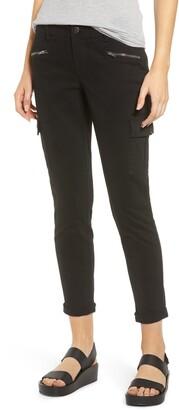 1822 Denim Cargo Pocket Skinny Jeans