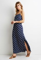 Forever 21 Contemporary Polka Dot Maxi Dress