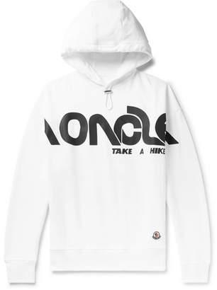 Moncler Genius 2 1952 Logo-Print Loopback Cotton-Jersey Hoodie